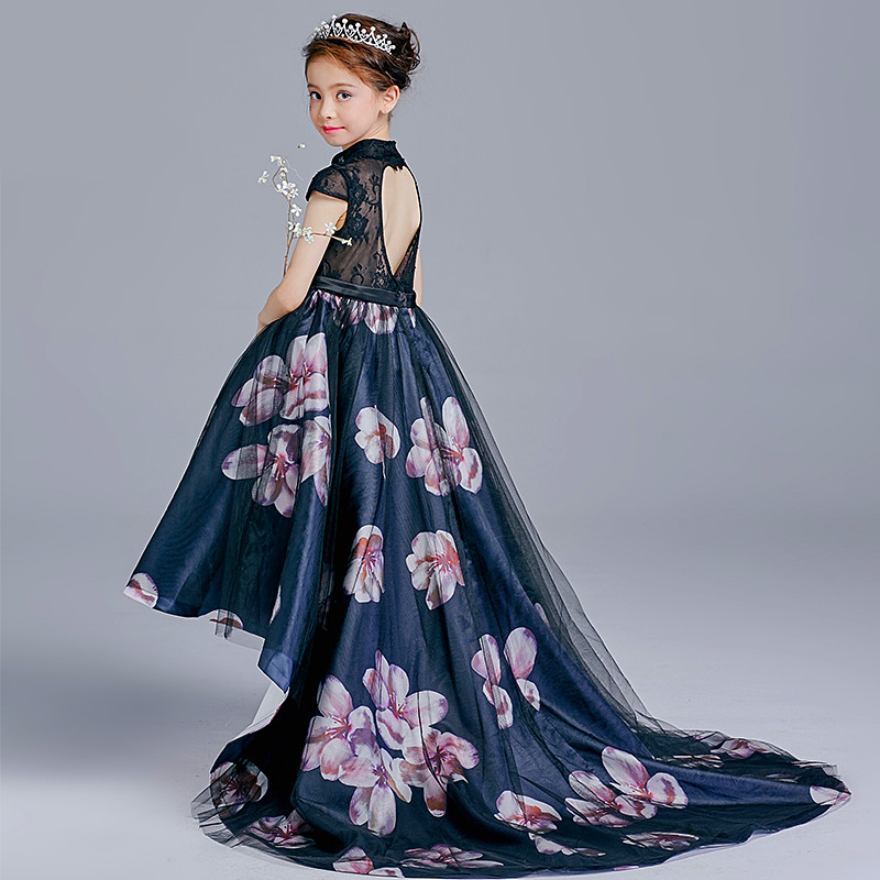 Chinese Style Girl Easter Princess Dress Trailing Flower Pompon Child Show  Beauty Pageant Evening Dress Robe De Soiree Ball Gown-in Dresses from  Mother ... f44852ea41c7
