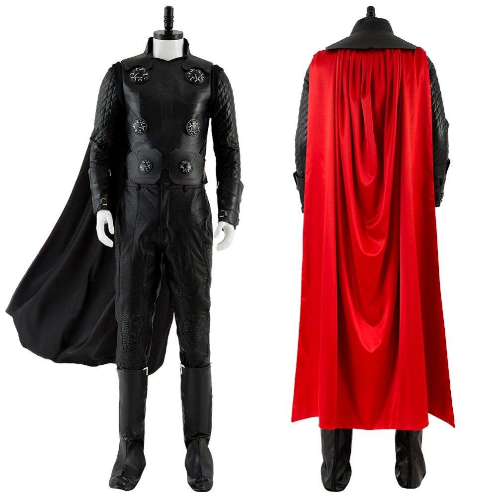 Les Avengers 3 Infinity War Thor Cosplay Costume adulte hommes femmes tenue Halloween carnaval Cosplay Costumes