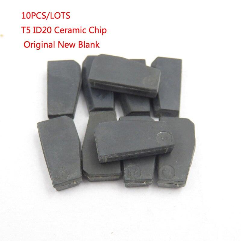 Cocolockey чип ключи от машины T5 (ID20) Керамика для ключа автомобиля транспондер ключ ID T5 чипа 10 шт./лот