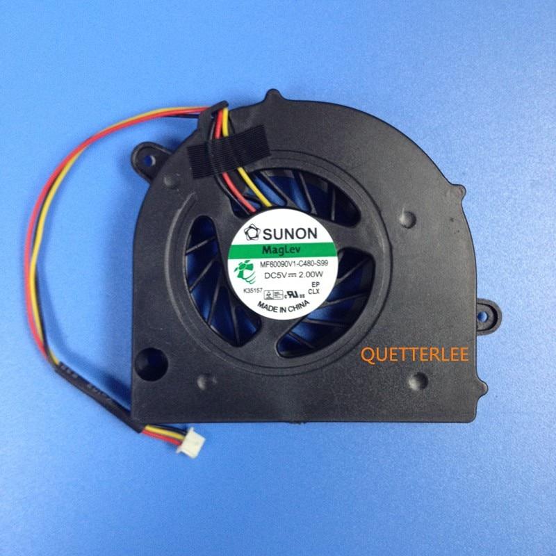 Remplacement de MF60090V1-C000-G99 de ventilateur de refroidissement CPU pour Lenovo G450 G550 G455 G555 G555A TOSHIBA Satellite L500 L505 L555 ventilateurs de refroidissementRemplacement de MF60090V1-C000-G99 de ventilateur de refroidissement CPU pour Lenovo G450 G550 G455 G555 G555A TOSHIBA Satellite L500 L505 L555 ventilateurs de refroidissement