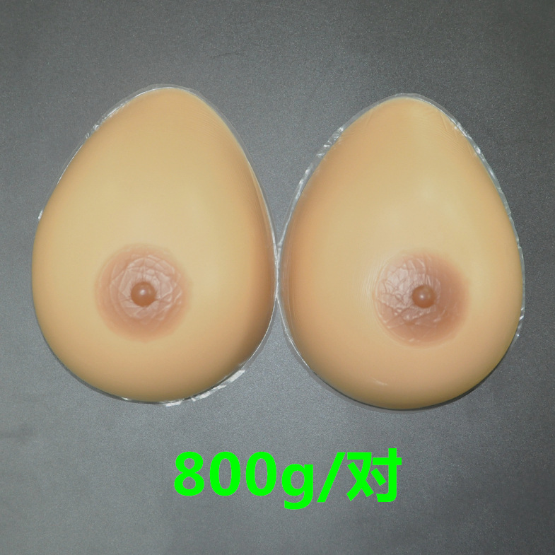 ФОТО 1pair 800g/pair C CUP Woman Silicone breast Forms Enhancer Bust Boobs seios Pads artificial breasts tits shemale transgender
