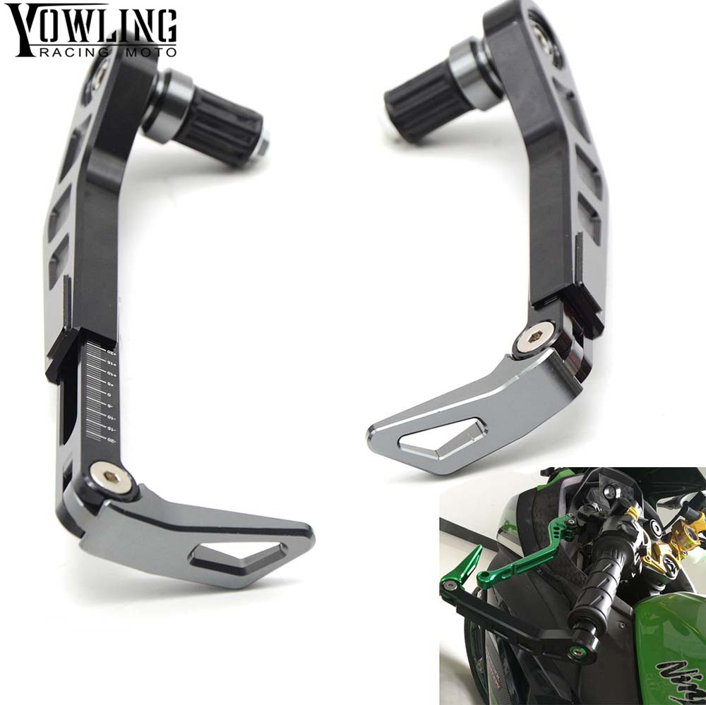 Universal 7/822mm Motorcycle Handlebar Brake Clutch Lever Protect Guard for BMW F R K 650 700 800 1200 1300 GS R RS Adventure