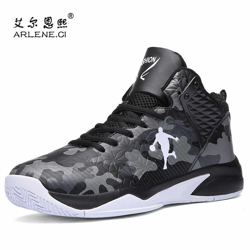 342383a1275 New Arrival Men Basketball Shoes Anti-Skid Cushioning Sneakers Boys 2018  High Quality Athletic Outdoor