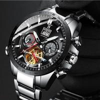 Switzerland Automatic Mechanical Watch Men Montre Homme Relojes Relogio Masculino Luminous Erkek Kol Saati Watches Brand Luxury