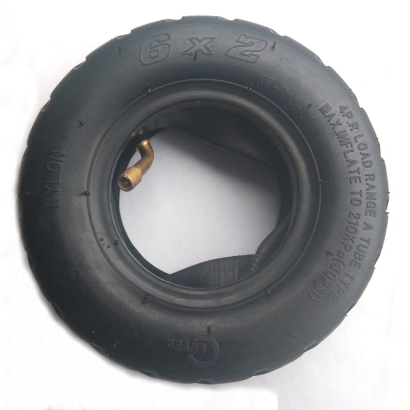 Tire with Inner Tube 6x2 fits Electric Scooter fo Modified Wheel ...