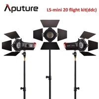 Aputure CRI 97+ LS Mini20 flight kit ddc fresnel cob led light photography led light film led light with light stand