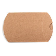 100Pcs Kraft Paper Pillow Candy Box Wedding Favor Gift Party Supply UYT Shop(China)