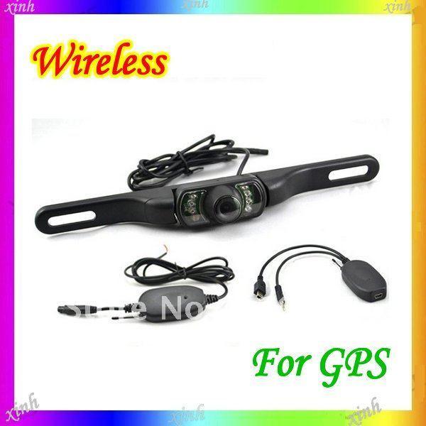 2.4 G HZ wireless gps car rearview camera car backup reversing camera parking camera wiht night vision