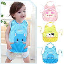 Newborn Cartoon Waterproof Aprons Baby Bibs  For Boy&Girl Burp Cloths New Design Bibs Feeding Baby Saliva Towel for baby care
