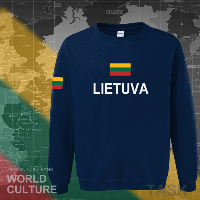 Lithuania Lithuanian hoodies men sweatshirt sweat new nation 2017 streetwear clothing sporting tracksuit LTU Lietuva Lietuvos 1
