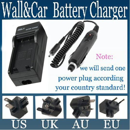 Battery Charger for Polaroid T730 T831 T833 Digital Camera