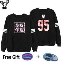 BTS Sweatshirt Women Korean Idol Team Fans Casual Capless Women Hoodies Pullover Sweatshirt Winter Fashion Bangtan Kpop Clothes