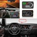 Affichage tête haute de voiture HUD pour BMW X3/X5 E36/E39/E46/E60/E90 F10/F20/F30 voiture HUD A6 affichage Virsual numérique projecteur électronique obd ii car hud hud display obd display obd ii -