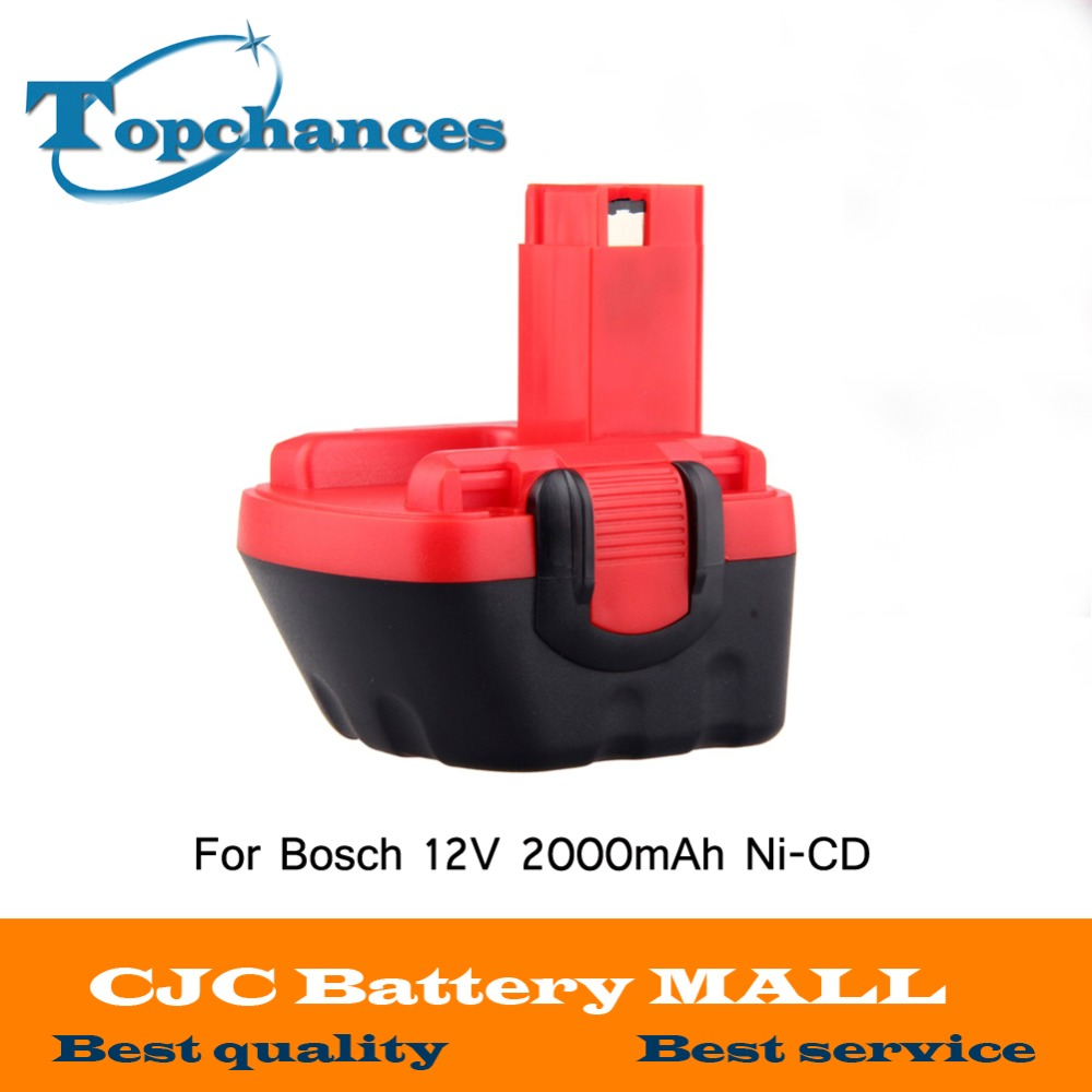Brand New 12V Ni CD 2000mAh Replacement Power Tool Battery for Bosch BAT043 2 607 335
