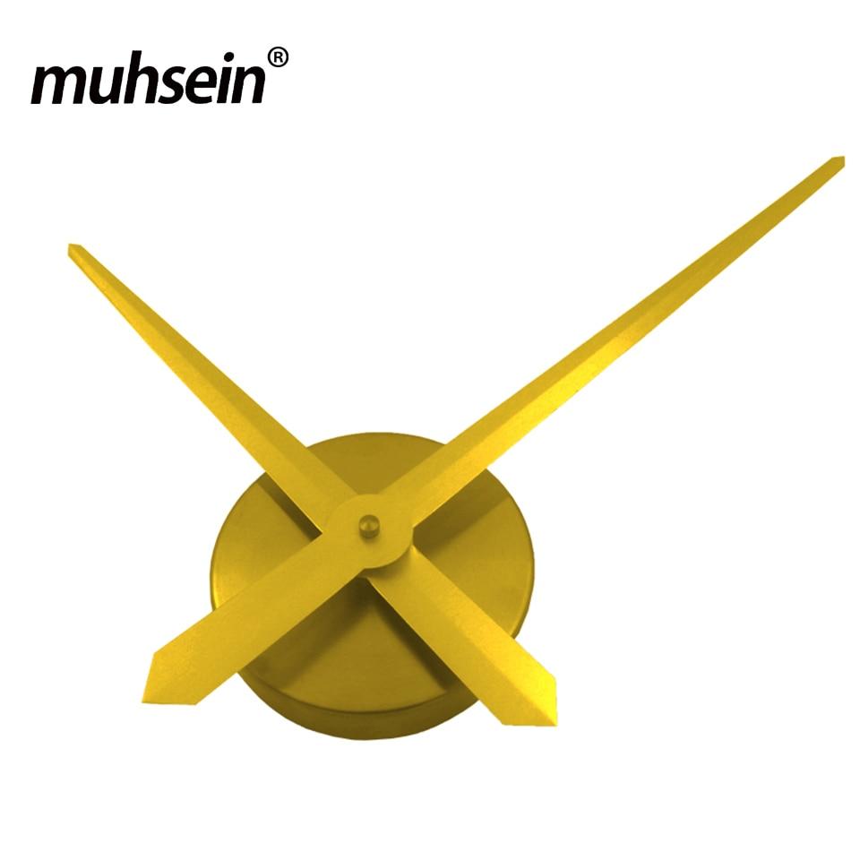 2019 muhsein Wanduhr Quarzwerk Hände Mechanismus Repair Tool Ersatzteile Kit DIY Gold Silber Schwarz Freies Verschiffen