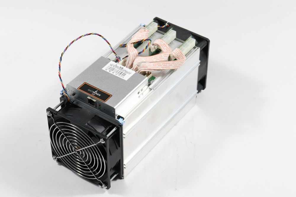 YUNHUI Più Nuovo Bitcoin Minatore AntMiner V9 4TH/S BTC Minatore Asic Minatore Meglio di Antminer S5 S7 T9 + s9 S9i WhatsMiner M3 Ebit E9