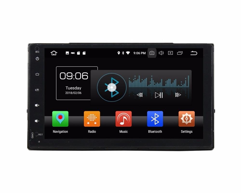 2din Android 8.0 Octa Core 9 Car Multimedia DVD GPS for Toyota Corolla 2016 2017 With 4GB RAM Radio Bluetooth WIFI USB 32GB ROM