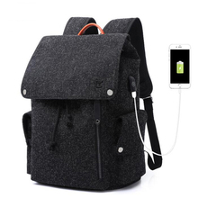 OZUKO Для мужчин рюкзак высокой емкости USB зарядка 15,6 дюймов ноутбук рюкзак моды школьная сумка для подростков мальчиков mochila