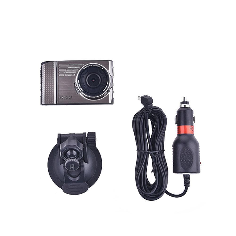 Driving Recorder 1080p Dash Camera Generalplus GPCV1247 OV9732 CMOS Sensor 4 Glass Lens