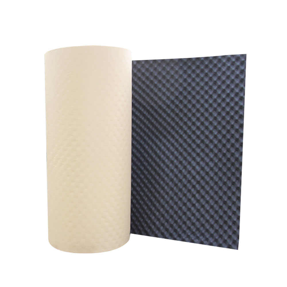 100*50cm aluminum foil sound insulation cotton insulation closed cell foam sheet Car Van Sound Proofing Deadening Insulation