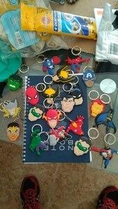 Хит продаж, супер герой, принцесса, ПВХ, мультяшная цепочка для ключей, аниме, рисунок Микки, Мстители, Hello Kitty, кольцо для ключей, детская игрушка, брелок для ключей