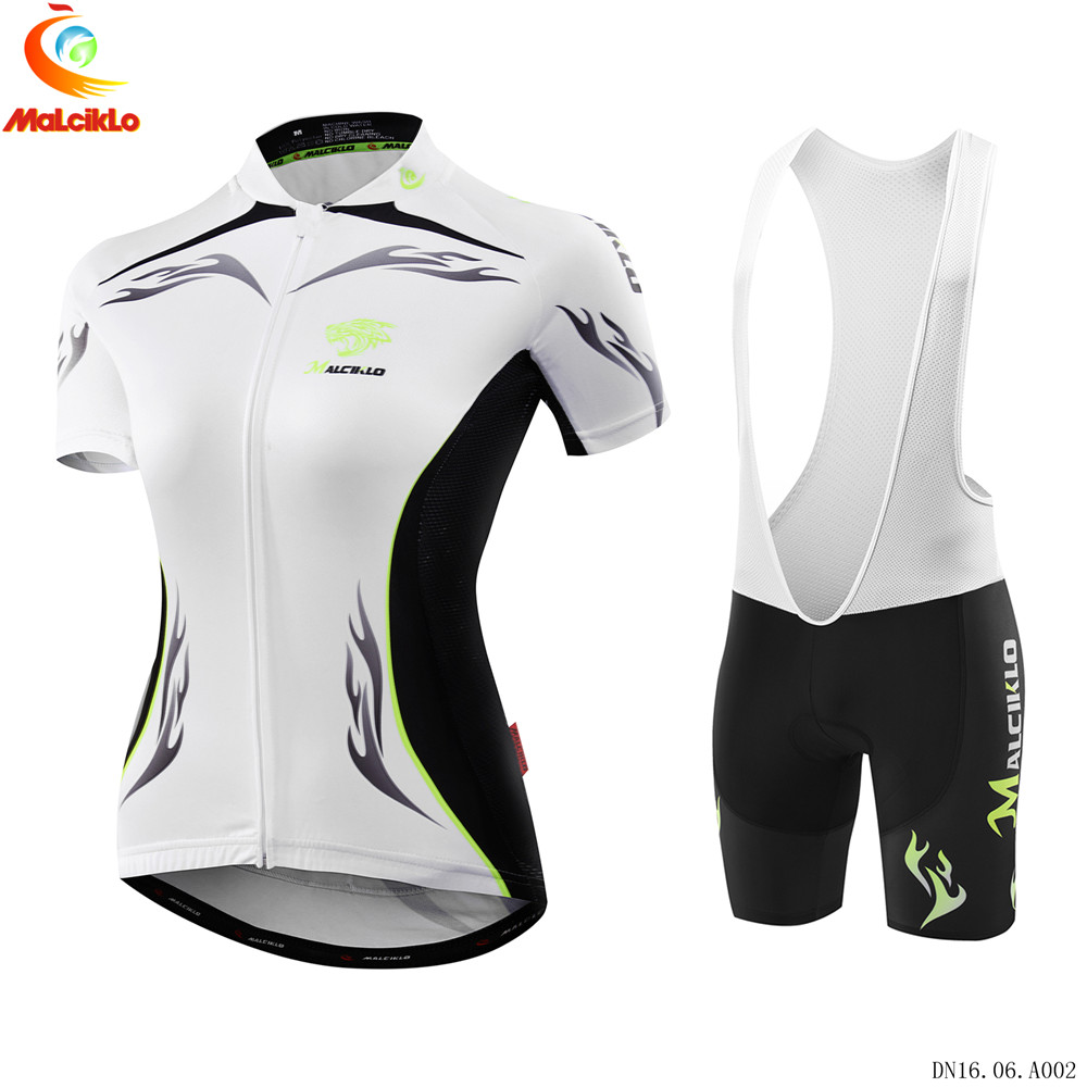 Malciklo 2017 Pro Team Women Cycling Bicycle MTB Jersey Wear Short Sleeve  Breathable Ciclismo Roupa Bike Clothing D011