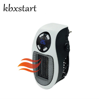 Kbxstart Portable Heated Handy Warmer Mini Ceramic Fan Heater 220V Electric Space Home Room Heater Heating Warmers Calefactor