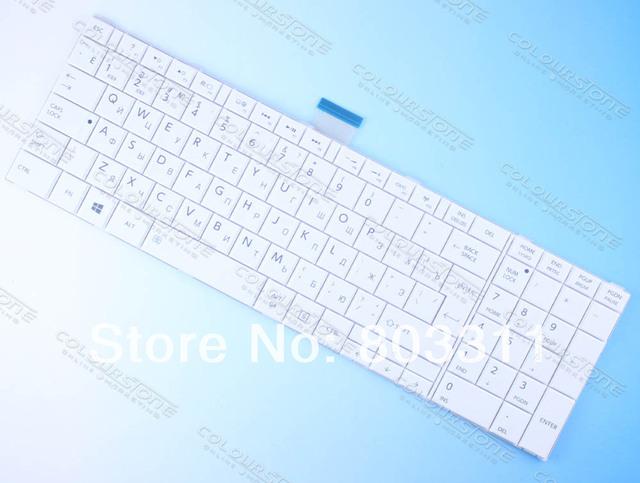 Ru negro teclado del ordenador portátil para toshiba c850 c855d c850d c855 c870 c870d c875 c875d l875 l875d laptop teclado mp-11b96su-5281w