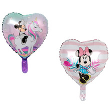 New Mickey Mouse Balloons Aluminium Foil Balonnen Party Ballons Decoration Birthday Baby Shower Girl Globlos