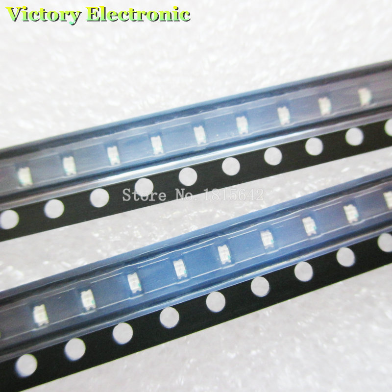 Electronic Components & Supplies Active Components 200pcs/lot Green 0603 Smd Led Diode Highlight Green Light Lamp New Wholesale Electronic To Have A Long Historical Standing