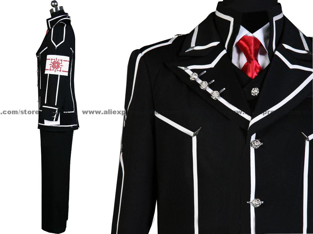 Anime Vampyr Knight Cosplay - Vampyr Knight Cosplay Boys Dagsklass Halloween Cosplay Uniform Kostym