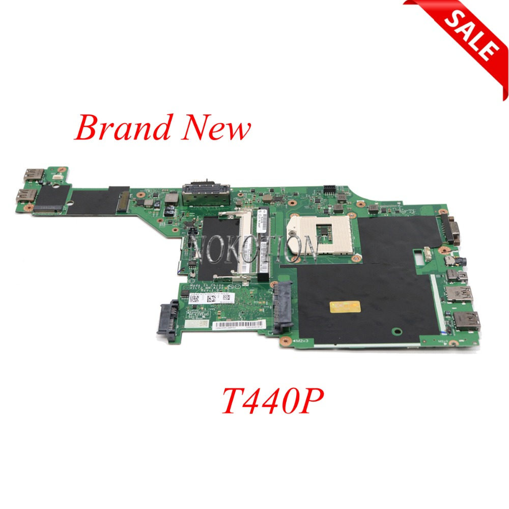 Brand NEW VILT2 NM-A131 Laptop Motherboard For Lenovo Thinkpad T440P DDR3L FRU 00HM971 00HM977 04X4082 04X4074 HM86 HD5000 Works