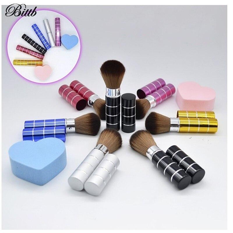 Bittb Powder Foundation Blush Brush Pinceles de Maquillaje Herramientas de Cosmé