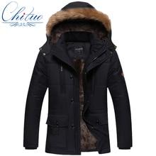 2016 новая зимняя куртка Мужчины Плюс толстый бархат теплое пальто куртки мужские случайные капюшоном пальто размер L-4XL5XL