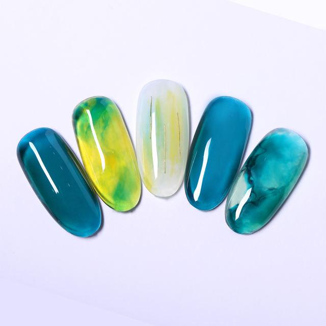 LILYCUTE 5ml Glaze Glass Nail Gel 175 colors