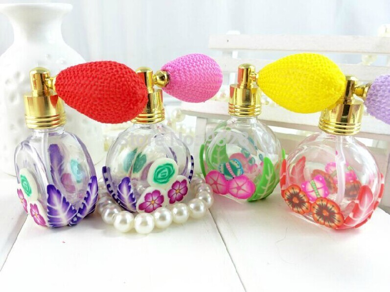 New Arrival Refillable Perfume Atomizer Spray Bottle Perfume Bottles with Gas Bags Lady Favor 10pcslot ZH1442