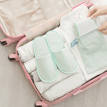 Travel Slipper Storage Bag Men and Women Aircraft Hotel Business Lightweight Soft Comfortable Folding Slippers