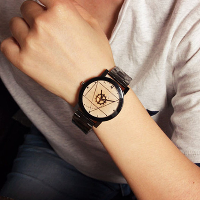Splendid Original Couple Stainless Steel Fashion Watches