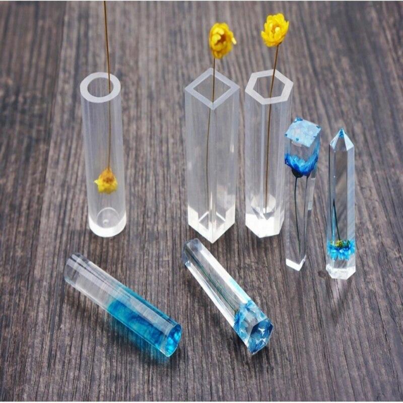 Chaud 1 pièces bricolage pendentif Silicone liquide moule résine bijoux pendentif moule à la main décoration outils livraison directe