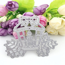 christmas candle design metal cutting dies for scrapbooking photo ablum paper card wedding gift stencils decor ER-329