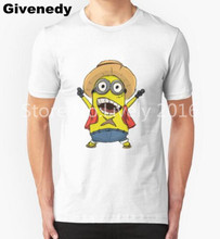 Fashion T Shirt Men ONE PIECE Minion Luffy T shirt Cotton Normal O Neck Tops Tee Anime Short Sleeve T-Shirts