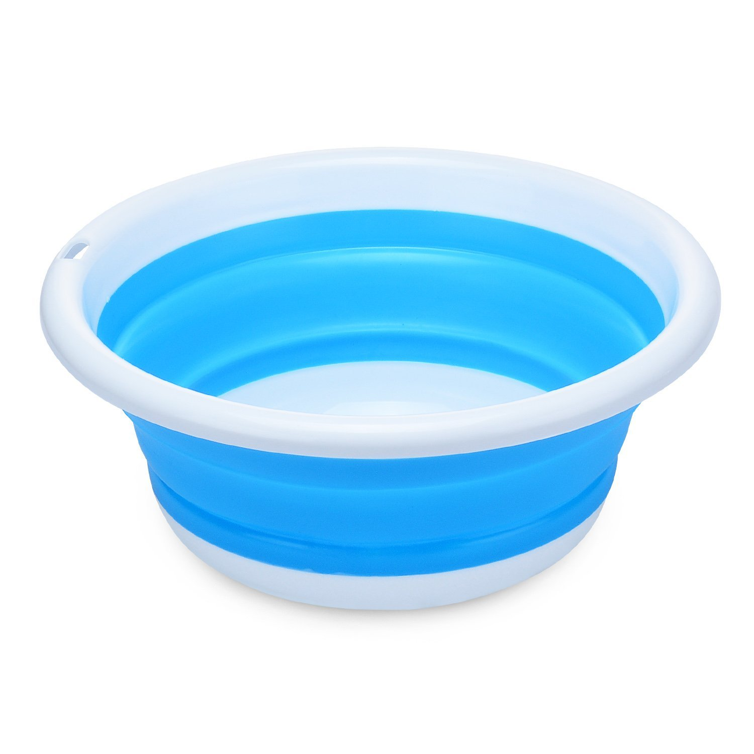 Easy and Convenient Multi purpose Collapsible Dish Tub Bowl BPA Free ...