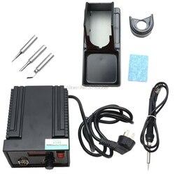 110V 220V 967 LCD pantalla SMD desoldador eléctrico retrabajo soldadura Estación de hierro venta al por mayor y Dropship