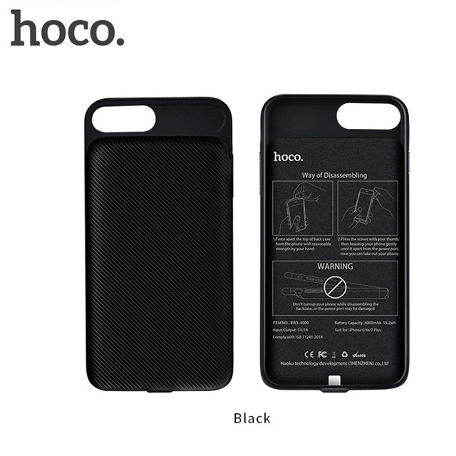 57035e56989906 HOCO BW2 3000mAh Protective Case Cover Power Bank Backup External Lithium  Polymer Battery Power for iPhone 6/6S/7-in Power Bank from Cellphones ...