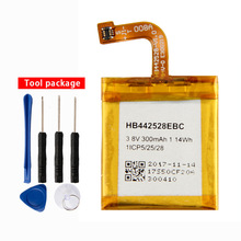 Original Replacement HB442528EBC Battery For Huawei Watch1 HB442528EBC Rechargeable Battery 300mAh original replacement battery huawei hb442528ebc for huawei watch1 300mah