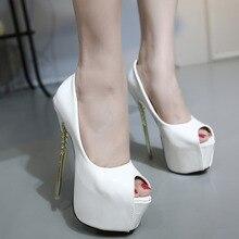 2016 Горячая Продажа РАЗМЕР 35-40 Европа Новая Мода Женщины Насосы Высоких Каблуках 16.5 см Сексуальные женские обувь
