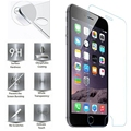 HD Premium Tempered Glass For iPhone 7 6 6S Plus 5 5S 6SPlus 7Plus Explosion-proof Screen Protector pelicula de vidro Glass Film