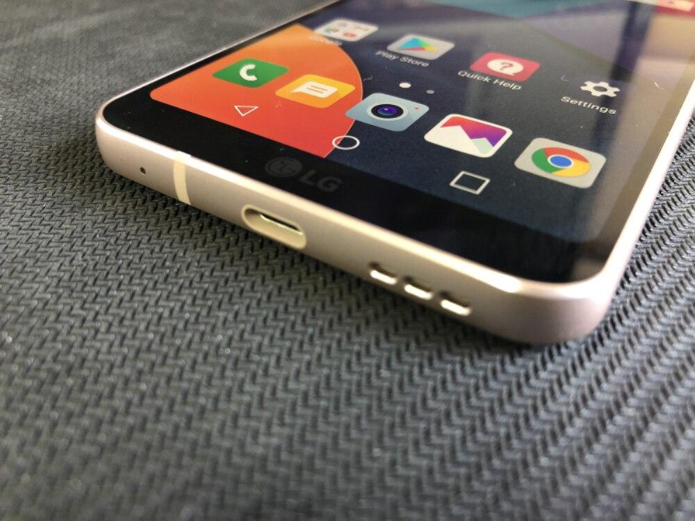 Разблокированный LG G6 4G Оперативная память 32G/64 Встроенная память 13MP 5,7 ''4 аппарат не привязан к оператору сотовой связи мобильного телефона с одной Sim-картой H870 H871 H872 H873 VS988 Dual sim H870DS