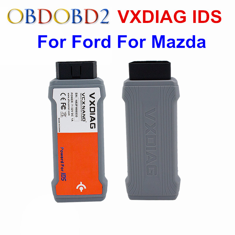 VXDIAG VCX NANO For Ford For Mazda 2 in 1 With IDS V104 V101 OBDII Code  Scanner VXDiag For Ford For Mazda OBD2 Diagnostic Tool