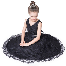 2016 Bridesmaid Marriage Teenage Girls Dresses Prom Lace Big Girl Dress Sleeveless Enfant Wedding Dress White 6 7 8 10 11 12 14